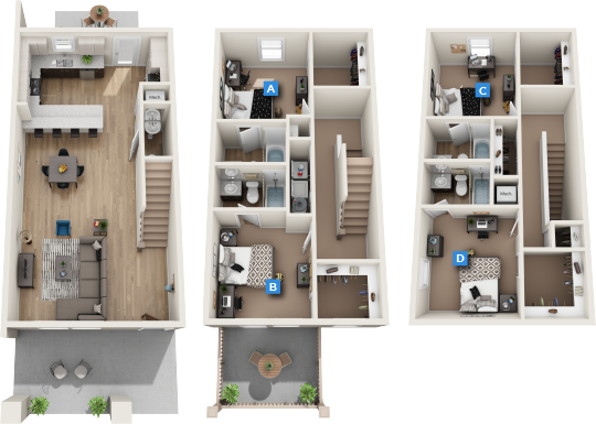 Lumpkin B Furnished Rendering